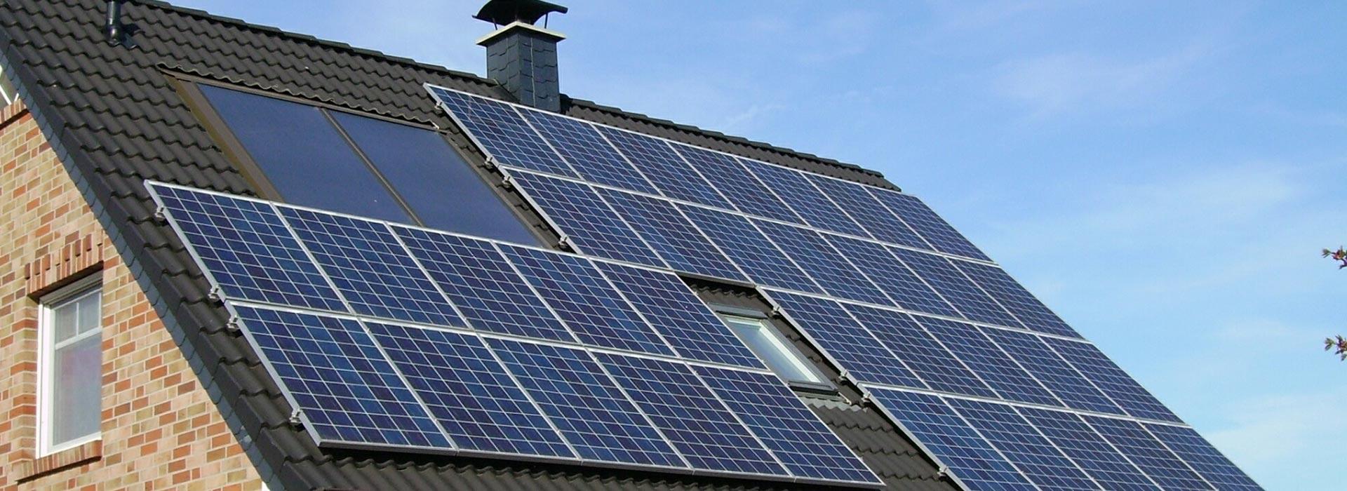 Solaranlagen für Hausdächer